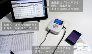 GOZIC NFC対応ICカードやスマホ対応勤怠管理